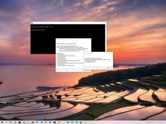 هل تعريف نظام ويندوز 10 لديك مرتبط بالجهاز ام يمكنك استعماله على جهاز آخر؟ 1