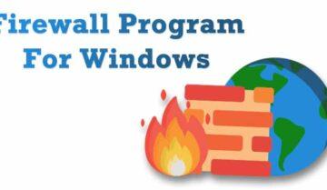 أفضل برامج Firewall مجانية لحماية جهاز الكومبيوتر من الفايروسات