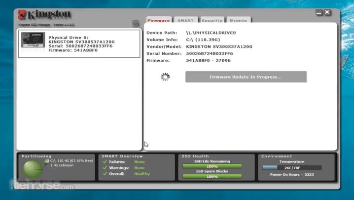 افضل التطبيقات لمراقبة اداء مساحة التخزين من نوع ssd على ويندوز 10 5