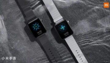 Mi Watch ساعة شاومي الذكية الجديدة تظهر في فيديو خاص بها 9
