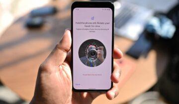Pixel 4 سيحصل على خيار لمراقبة العين اثناء استعمال الـFace unlock 17
