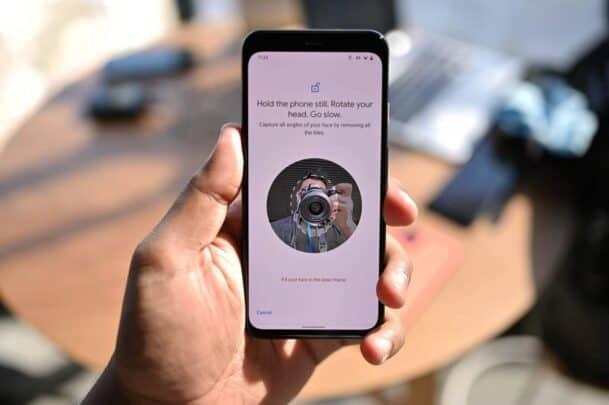 Pixel 4 سيحصل على خيار لمراقبة العين اثناء استعمال الـFace unlock 1