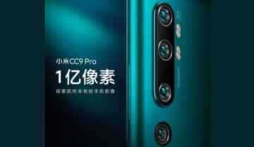 الإعلان عن هاتف شاومي الجديد Mi 9CC Pro اليوم 10