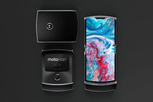 Motorola تعلن عن هاتف Moto Razr هاتف جديد قابل للطي من الشركة. 2
