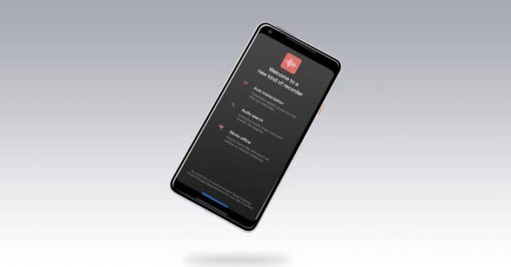كيف تستعمل مسجل الصوت الجديد على هاتفي Pixel 4 و Pixel 4XL 1