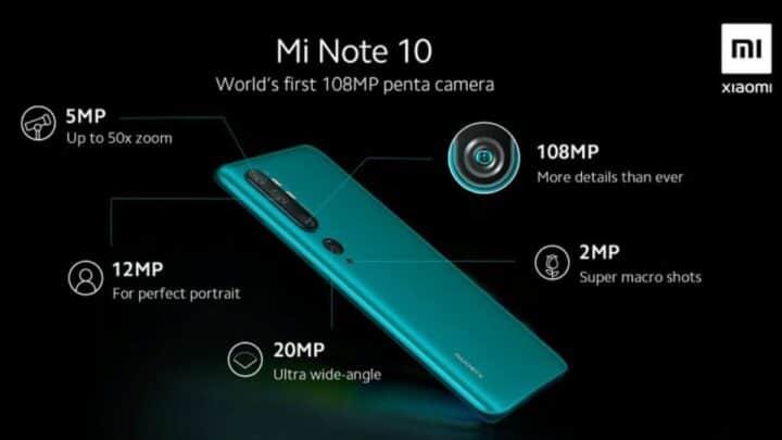 مواصفات و مميزات Mi Note 10 الجديد من شاومي مع السعر 3