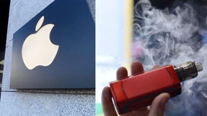 Apple تقوم بحذف تطبيقات التدخين الإلكتروني من على متجر التطبيقات 1
