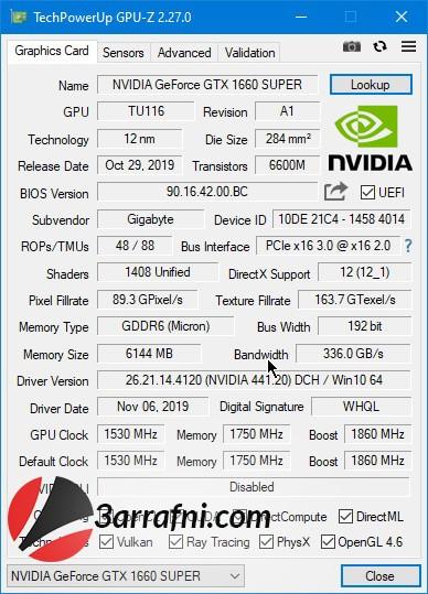 مراجعة بطاقة GTX 1660 Super رائدة الفئة الإقتصادية 1