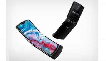 Motorola تعلن عن هاتف Moto Razr هاتف جديد قابل للطي من الشركة. 3