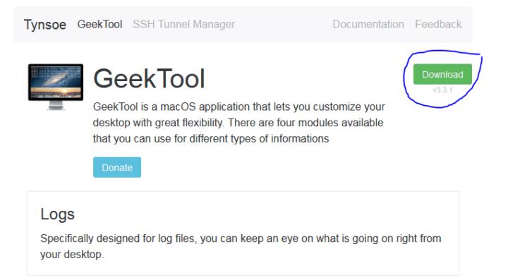 نصائح MacOS : كيف تعرض نصاً خاصاً على سطح المكتب الخصا بك 1
