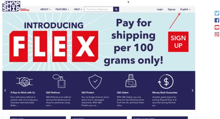 إشتري من أي مكان فالعالم مع شوب أند شيب Shop And Ship طريقة الإشتراك 2