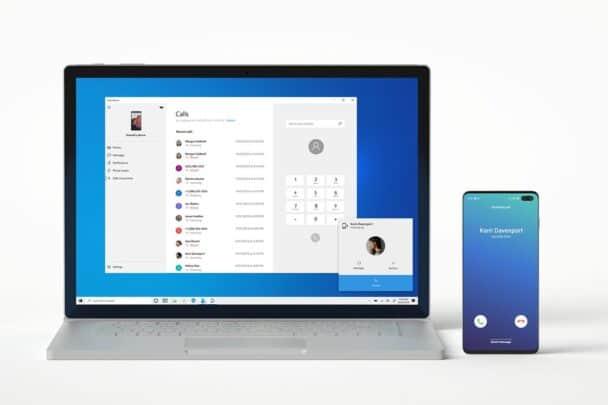 استقبل و قم بالإتصال هاتفياً عن طريق تطبيق your phone على الويندوز 1