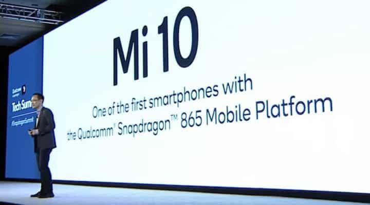شاومي تعلن عن معالج هاتف Mi 10 الرائد القادم من الشركة 3