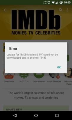 حل اخطاء Google Play Store المختلفة الشائعة على اجهزة Android 2