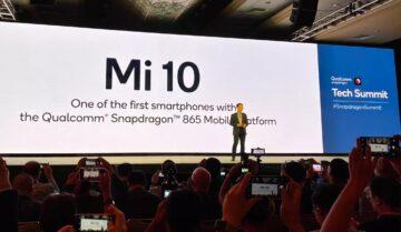شاومي تعلن عن معالج هاتف Mi 10 الرائد القادم من الشركة 15