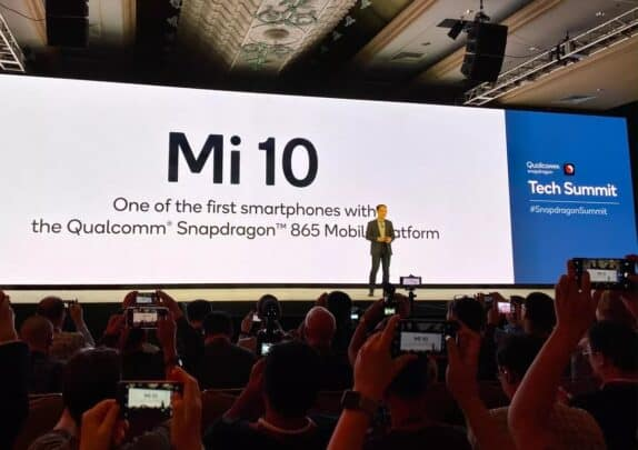 شاومي تعلن عن معالج هاتف Mi 10 الرائد القادم من الشركة 1