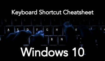 مجموعة من اختصارات لوحة المفاتيح على ويندوز 10 مهمة للجميع 1