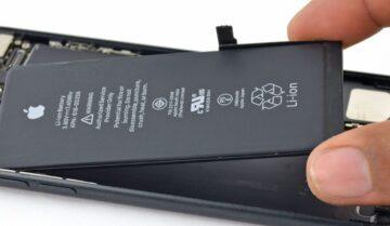 عرض نسبة البطارية المتبقية في iPhone 11 7
