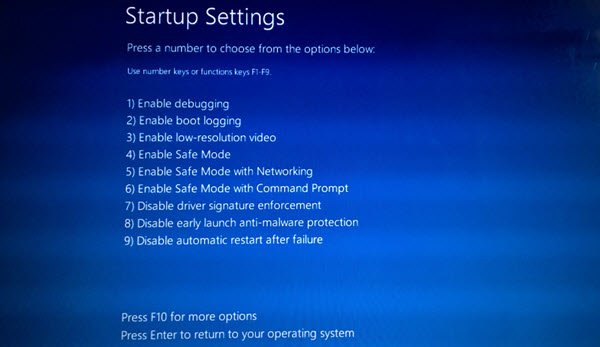 تثبيت windows 10 update في Safe Mode 3