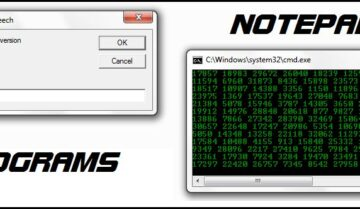 كيف تصنع Scripts في برنامج Notepad على ويندوز 10 8