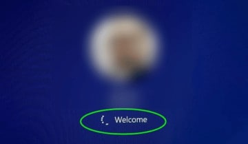 حل مشكلة توقف ويندوز 10 عند شاشة الترحيب Welcome 5