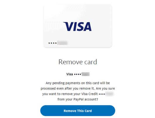 طريقة إزالة الحساب البنكي من Paypal مع إزالة بطاقات الإئتمان 4