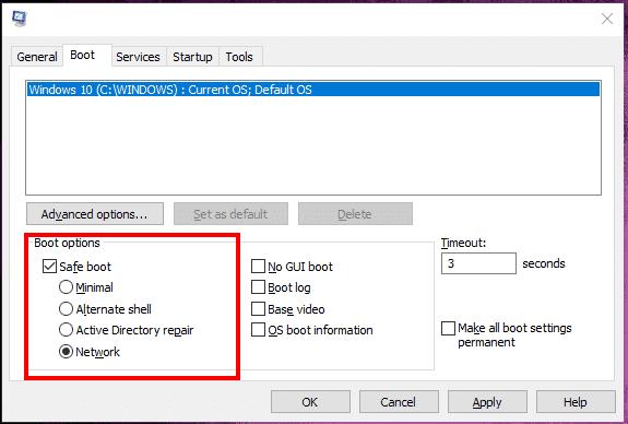 تثبيت windows 10 update في Safe Mode 4