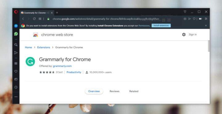 تثبيت chrome extensions على متصفحات أخرى 2