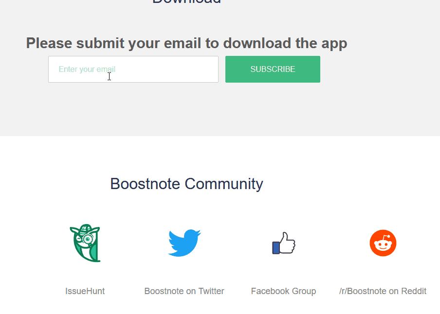 برنامج Boostnote المجاني لكتابة الأكواد وتسجيل الملحوظات على ويندوز 10 2