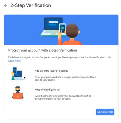4 طرق حماية حساب جوجل الخاص بك من السرقة 4