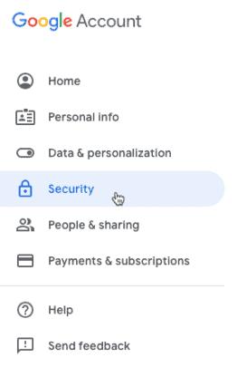 4 طرق حماية حساب جوجل الخاص بك من السرقة 2