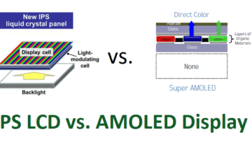 الفرق بين AMOLED و LCD في شاشات الهواتف 5