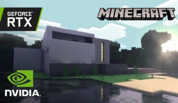 عالم minecraft RTX هو الأفضل لإستعراض تقنيات RTX 8