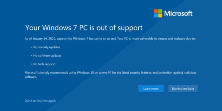 كيف تستخدم Windows 7 بعد إنتهاء الدعم 3