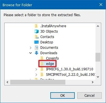 كيفية ايقاف تثبيت Microsoft Edge الجديد على جهازك الشخصي. 3