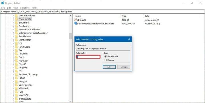 كيفية ايقاف تثبيت Microsoft Edge الجديد على جهازك الشخصي. 7