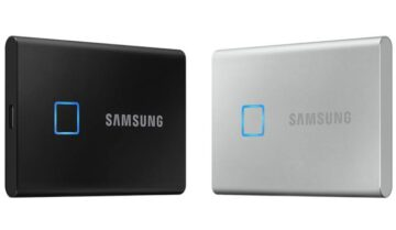 سامسونج تعلن Samsung T7 Touch اجدد SSD متنقل 2