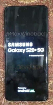 أول صور Galaxy S20 الجديد من سامسونج 1