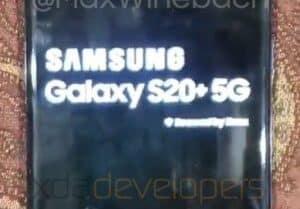 أول صور Galaxy S20 الجديد من سامسونج 3