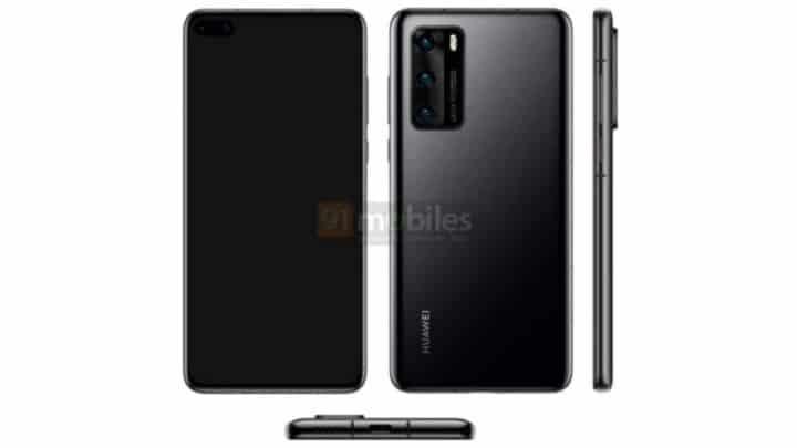ظهور تسريبات جديدة لهاتف Huawei P40 القادم 1