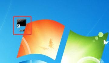 عمل إختصار CMD في ويندوز 10 2