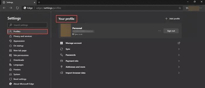 طريقة تخصيص متصفح Edge الجديد في ويندوز 10 3