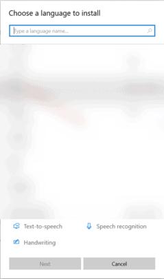 اضافة عربي Arabic Keyboard في ويندوز 10 3
