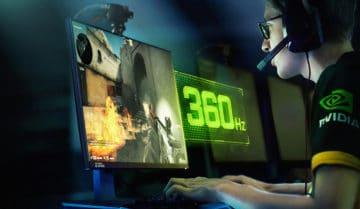 شاشة G-Sync جديدة بمعدل 360HZ 8