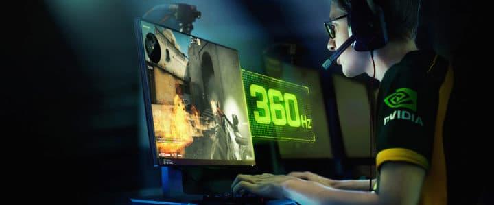 شاشة G-Sync جديدة بمعدل 360HZ 1