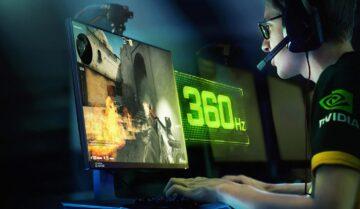 شاشة G-Sync جديدة بمعدل 360HZ 4