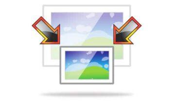 تصغير مجموعة صور معاً على ويندوز 10 7