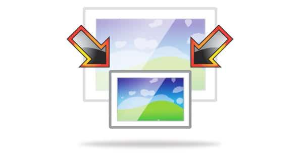 تصغير مجموعة صور معاً على ويندوز 10 1