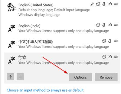 اضافة عربي Arabic Keyboard في ويندوز 10 4