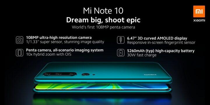 سعر Mi Note 10 في مصر رسمياً بعد إطلاقه 2